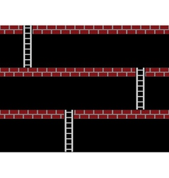 Seamless old arcade game screen vector