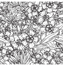 seamless pattern with hand drawn vector image