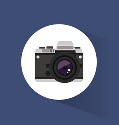 photo camera picture travel icon vector image vector image