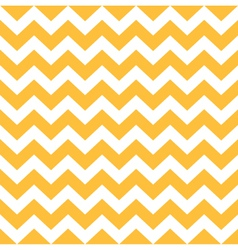 Thanksgiving Chevron pattern - yellow and white vector image vector image