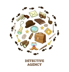 Detective agency round composition vector