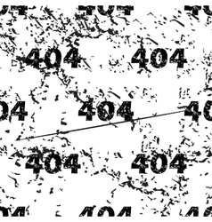 404 pattern grunge monochrome vector
