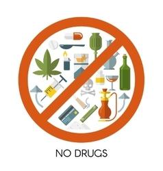 No drugs composition vector