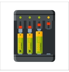 Charger battery energy electricity tool vector