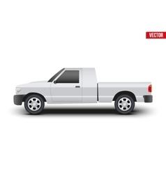 Original classic pickup truck vector
