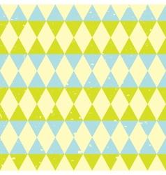 retro triangle pattern vector image