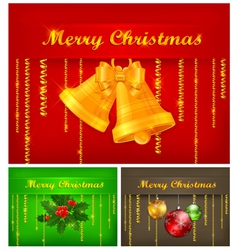 Merry christmas color background 10 ss v vector