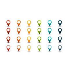 Set of map pointers vector