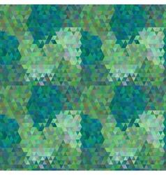 Polygon seamless pattern vector image
