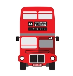 London bus icon vector image