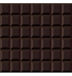 Dark tile chocolate seamless background vector