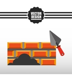Construction icon design vector