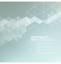 Abstract blurred background with triangles vector