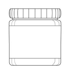 bottle of medicines vector image