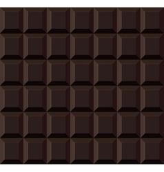 Dark tile chocolate seamless background vector