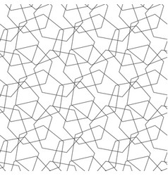 Abstract seamless pattern mosaic of wire vector