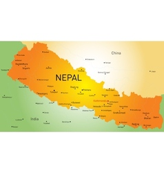 Nepal country vector