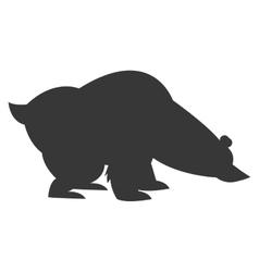 polar bear icon vector image