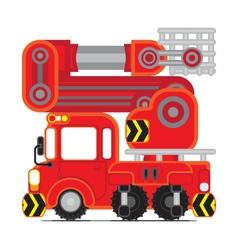 Redscue car02 vector