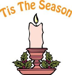 Tis The Season vector image