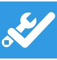 Valid tools icon vector