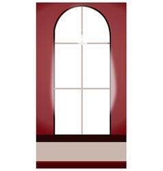 Window Interior vector image vector image