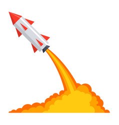 Ballistics with rocket launch vector