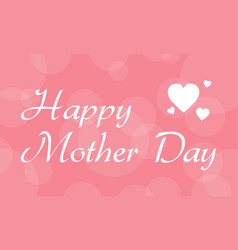 Collection of mother day card vector