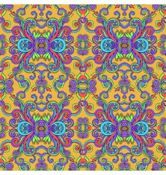 Decorative abstract floral pattern vector