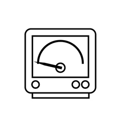 Gauge power energy technology icon graphic vector