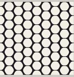 Hexagon seamles geometric pattern vector