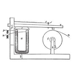 Morse telegraph vintage vector