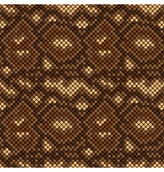 Snake skin seamless pattern vector