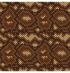 snake skin seamless pattern vector image