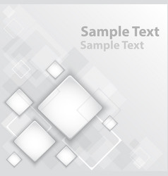 square abstract vector image vector image