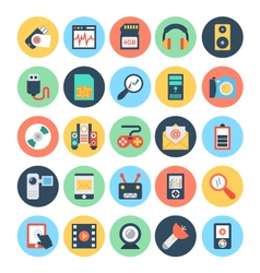 Technology and hardware icons 2 vector