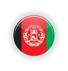 Afghanistan icon circle vector
