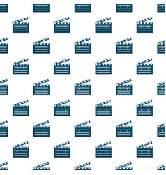 Clapboard pattern vector
