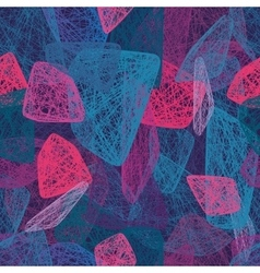 Colorful abstract shapes Seamless pattern vector image vector image