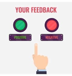 Feedback evaluation concept vector