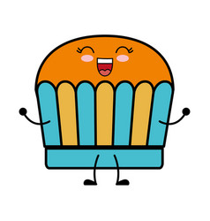 Muffin icon image vector