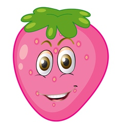 cartoon strawberry vector image