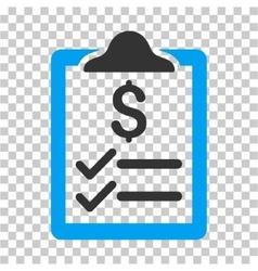 Invoice pad icon vector