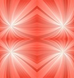 Orange mirror twirl background vector
