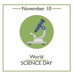 Science day vector