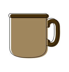 Coffee cup fresh aroma drink morning beverage vector