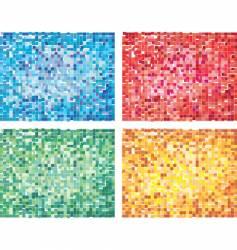 cubism design vector image vector image
