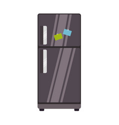 fridge household appliances vector image vector image