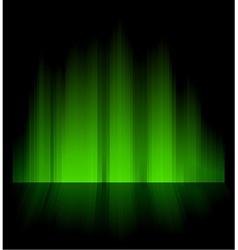 Northern aurora vector image