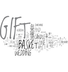 What gift will you buy text word cloud concept vector